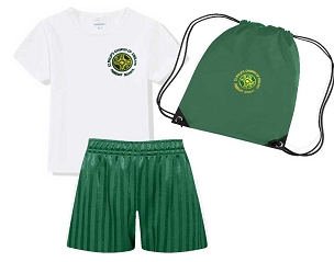 DEAL - St Philips C of E Primary School Full P.E. Kit with Pump Bag- with free initials - DEAL