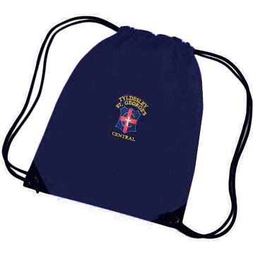 St Georges Primary School Navy Blue P.E. Bag