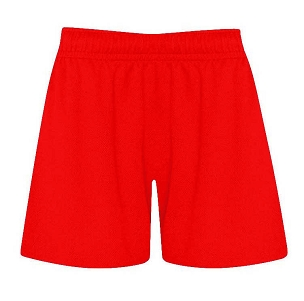 Atherton St Georges Red P.E. Shorts - with free initials