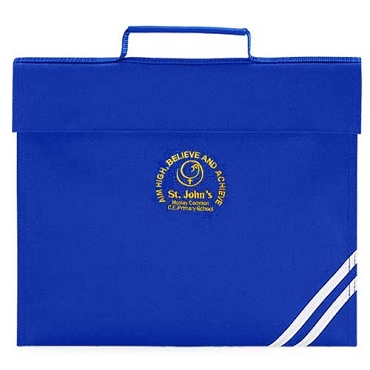 St Johns Mosley Common Primary School Blue Small Book Bag