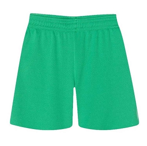 Tyldesley Primary School Green P.E. Shorts - with free initials