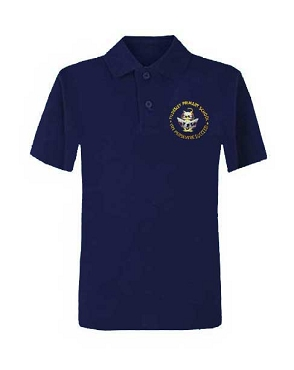 Tyldesley Primary School Unisex Navy Blue Polo Shirt